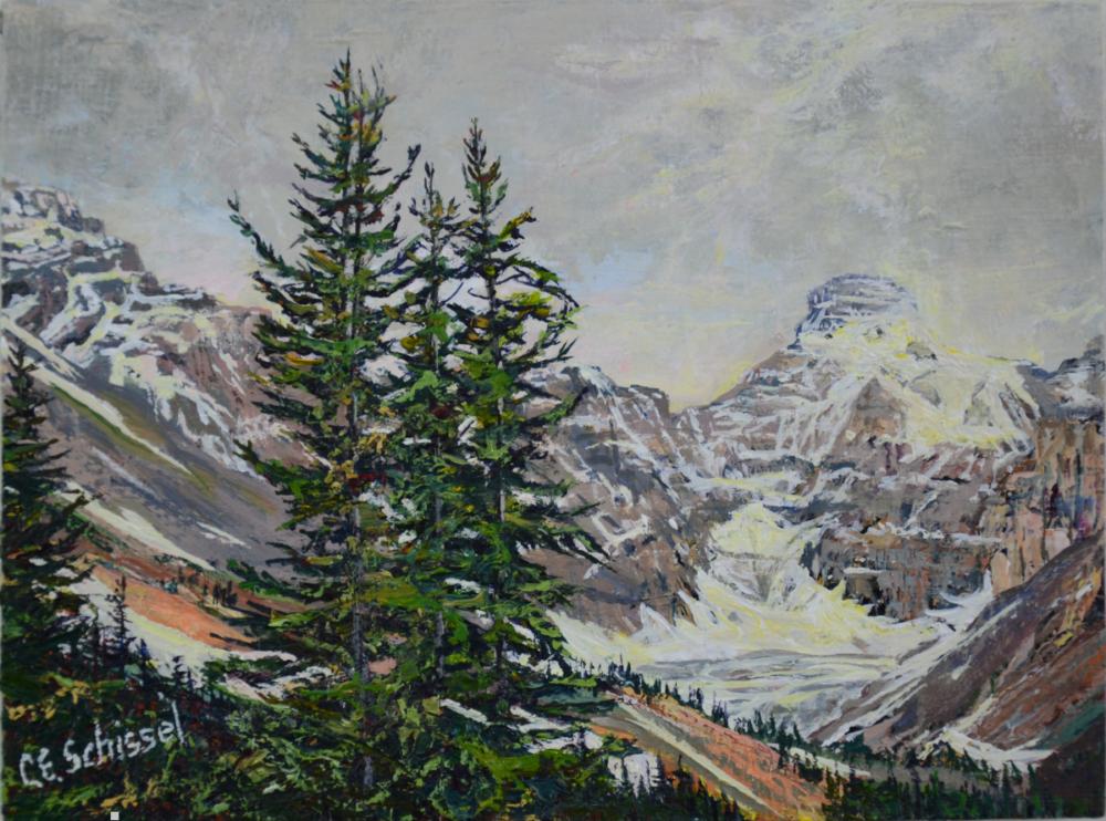 Glacier - Columbia Ice Field - SOLD