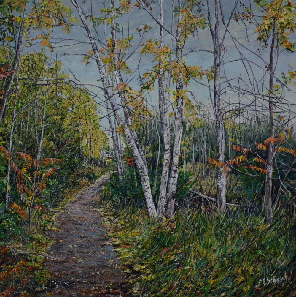 Gillies Trail in Autumn -SOLD